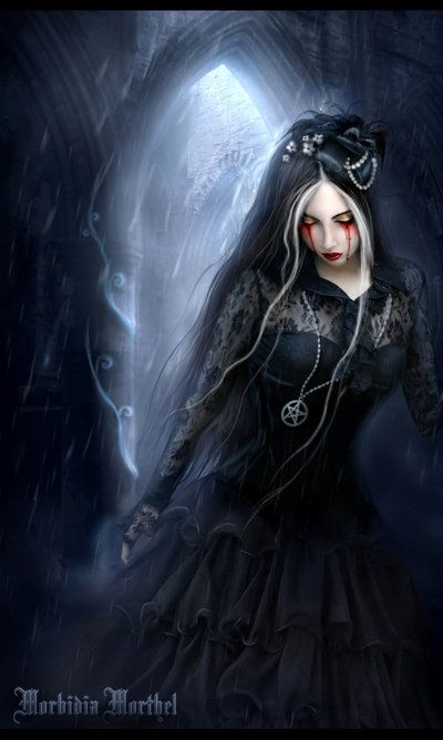 gothic images | 25 Amazing and Dark Photo Manipulations by Morbidia Morthel