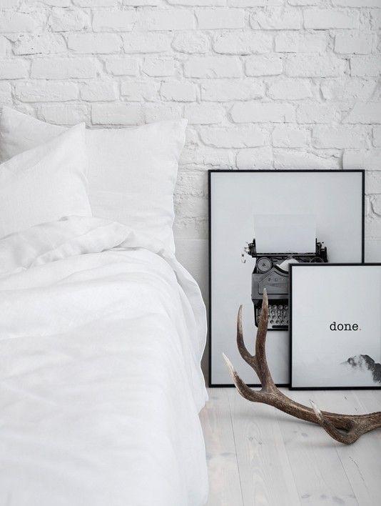Lniana pościel | BIAŁA | YELEN / White bedding 100% linen work