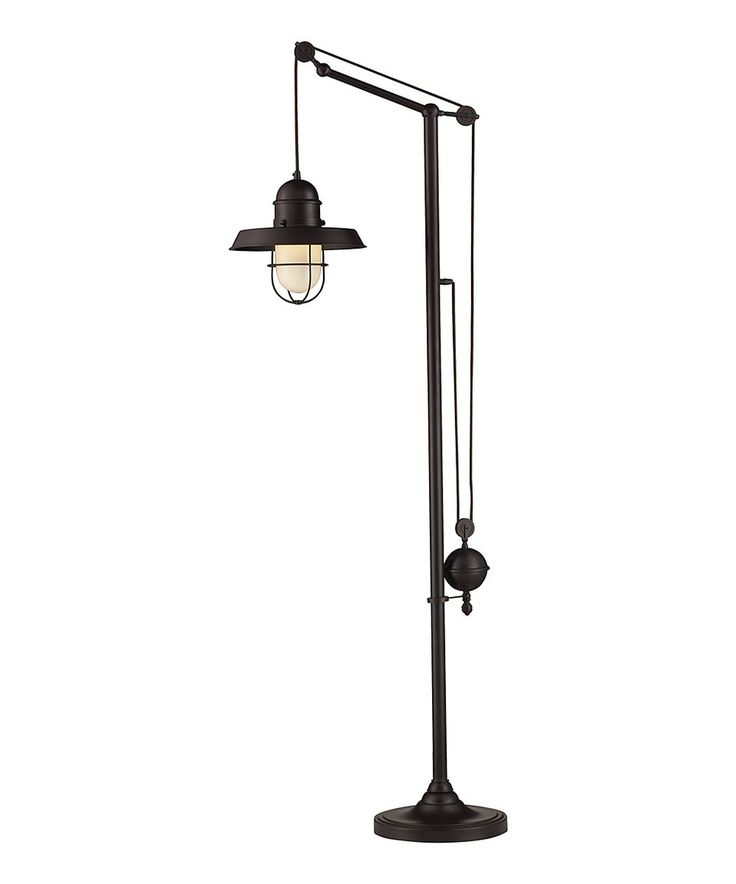 Take a look at this Oiled Bronze Farmhouse Floor Lamp today!