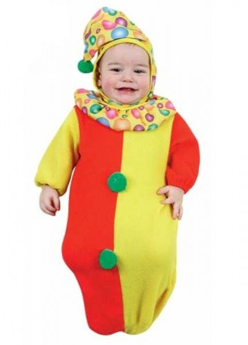 Clown Baby Bunting Suit 0-9 months