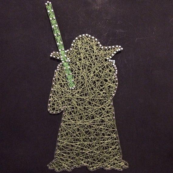 Star Wars Yoda String Art