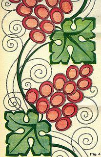 L'Artisan liturgique Design for embroidery of a cope. l'Artisan Liturgique no. 2 (15 Janvier 1927).