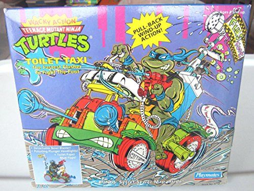Teenage Mutant Ninja Turtles Wacky Action Toilet Taxi Tee... https://www.amazon.com/dp/B0012MYJVQ/ref=cm_sw_r_pi_dp_x_R4qzzb69Q8WQR