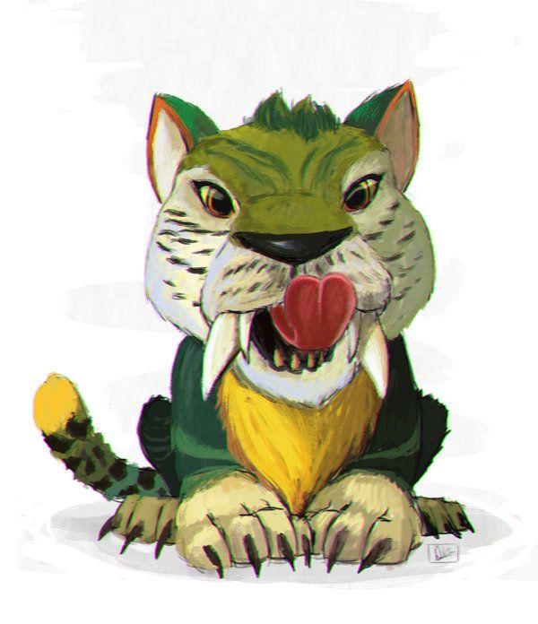 Tigrosauro miei disegni digitali my digital designs pinterest voltagebd Choice Image