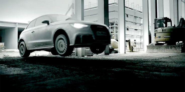 Audi A1 quattro Gymkhana video with Timo Scheider