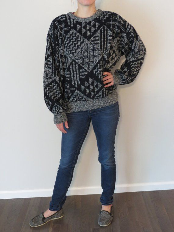 115f58926d Vintage Michael Gerald Sweater XL Sweater Hipster Sweater