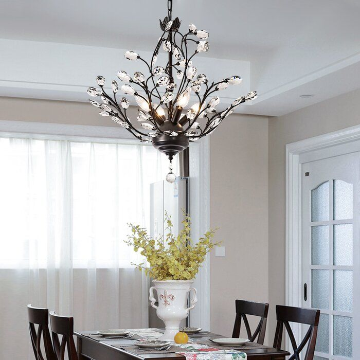 Roberge 4 Light Classic Traditional Chandelier Traditional Chandelier Candle Style Chandelier Chandelier