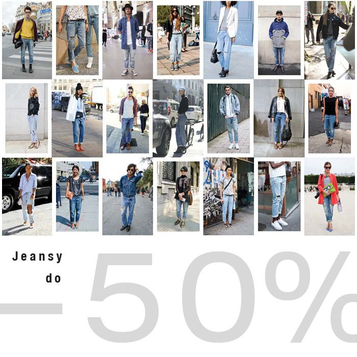 #jeansy - #50% #brandpl #wyprzedaz #jeans #denim #women #men #sale #online #onlinestore #fashion #streetfashion