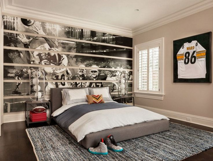 Boys Baseball Bedroom Ideas Themed Rooms 74