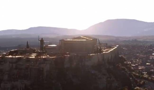 Το βίντεο που όλοι πρέπει να δούμε: Έτσι ήταν η Αρχαία Αθήνα