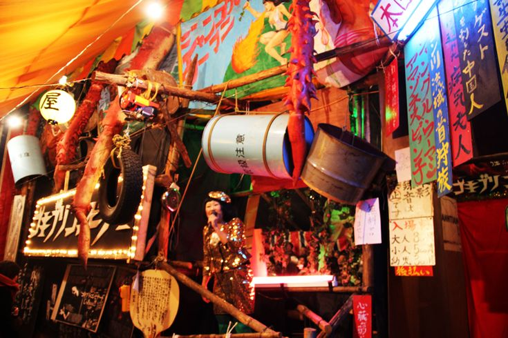 ここは昭和88年なのだ。新宿花園神社見世物小屋のアブナイ悦楽
