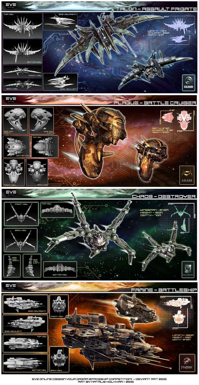 EVE ONLINE: COLLECTION 2010 by *chermilla on deviantART