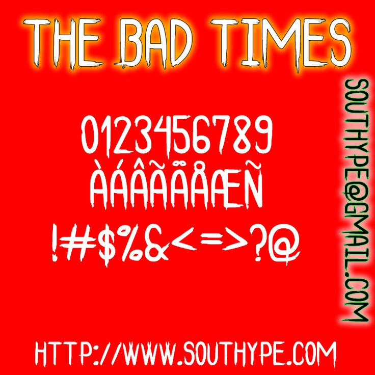The Bad Times St – Southype