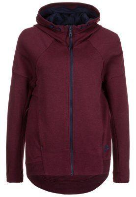 Sweats zippés Nike Sportswear TECH - Sweat zippé - night maroon/heather/ obsidian bordeaux
