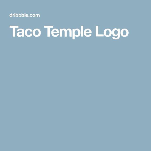 Taco Temple Logo