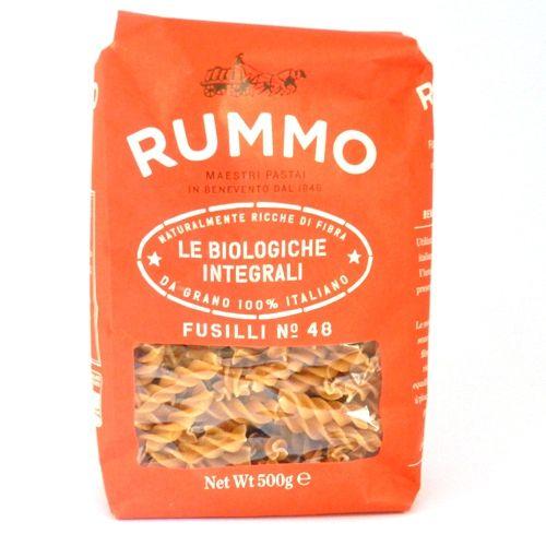 Deze heerlijke volkoren pasta  is biologisch en is voor 100% gemaakt van Italiaanse tarwe. -