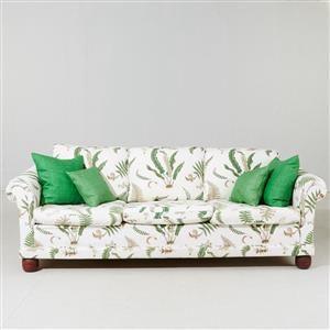 Køb og sælg sofaer - stofsofa, lædersofa, dansk design - Soffa klädd i Stensöta - SE, Stockholms Auktionsverk, Palermogatan