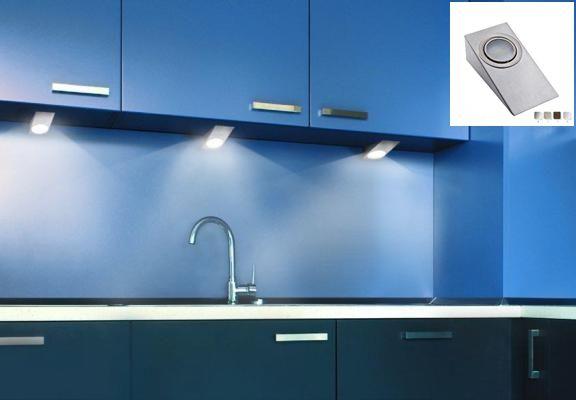 Spot pentru iluminarea ambientala a blaturilor de bucatarie, lumina alba (cald sau rece), info pe http://echipamente-audio-profesionale.ro/%20RETANGOLLP1-led-spot-mobila-bucatarie