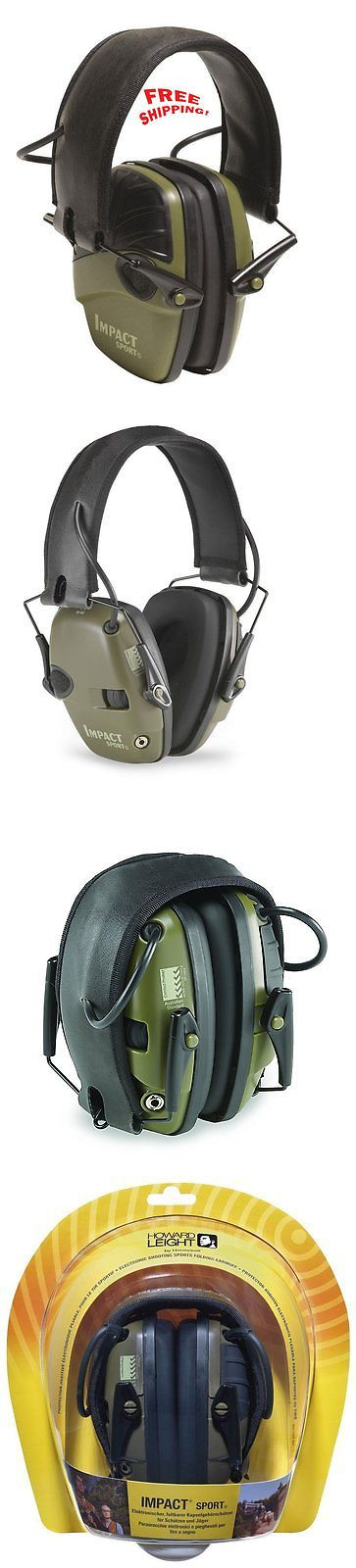 Hearing Protection 73942: Electronic Ear Muffs Shooting Protection Noise Cancelling Head Gear Impact Sport BUY IT NOW ONLY: $53.87