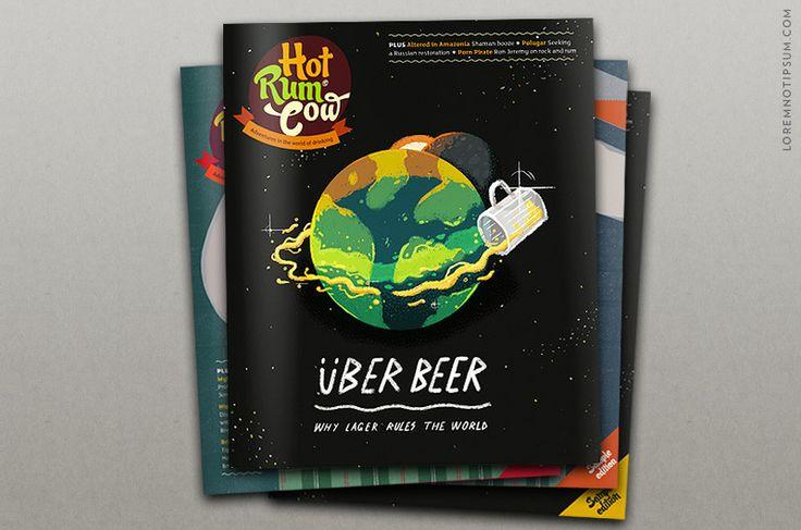 Abonnement Hot Rum Cow 1 Jahr/4 Ausgaben) | Rum and Products