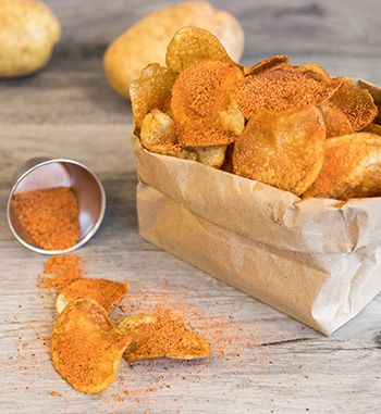Baked potato chips are deliciously simple to make at home! | EarthFresh