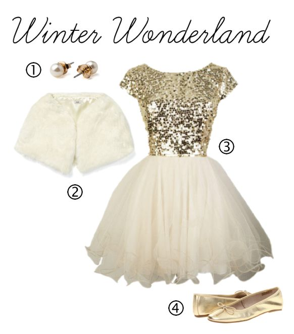 Winter Formal dress... Love the dress!
