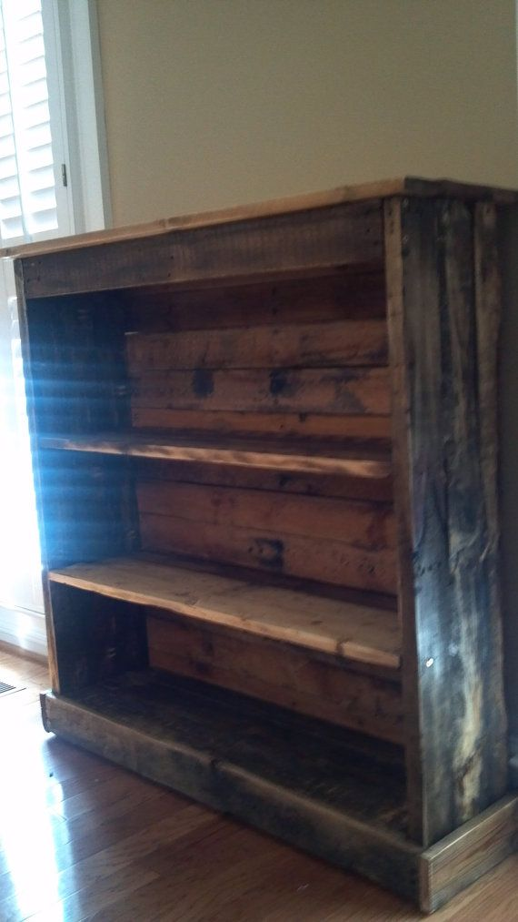 "Bookcase made from pallets.... a total ""could do"" project!!"