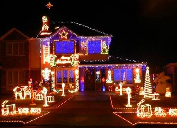 68 best christmas lights images on pinterest christmas rope christmas lights on a house mozeypictures Gallery