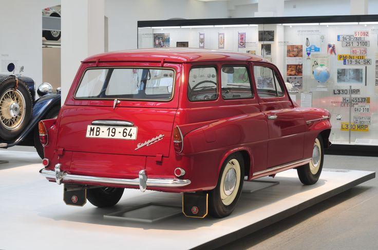 Skoda Octavia Combi (1959-1971) #skoda #octavia
