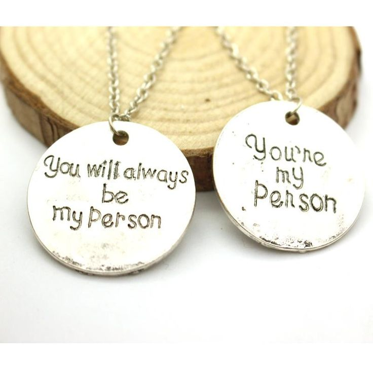"""Grey's Anatomy """"You're My Person"""" Necklace"""