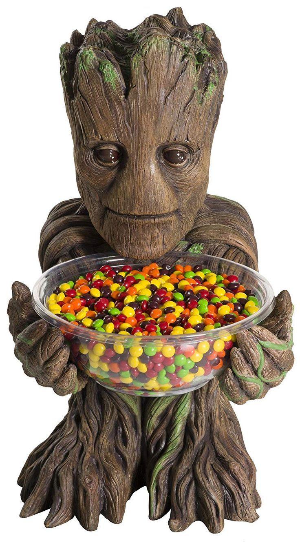 Lichter, um raum zu schmücken amazon guardians of the galaxy candy bowl holder groot