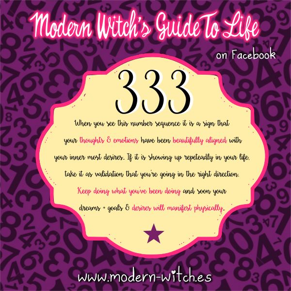 40 best 333 images on Pinterest  Numerology numbers