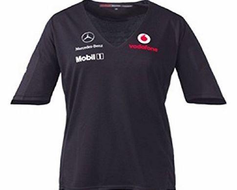McLaren Vodafone Mclaren Mercedes Ladies Team T-Shirt (M) No description (Barcode EAN = 5060082320446). http://www.comparestoreprices.co.uk/formula-1-merchandise/mclaren-vodafone-mclaren-mercedes-ladies-team-t-shirt-m-.asp