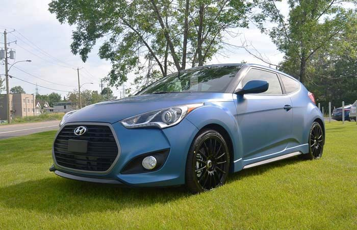 2018 Hyundai Veloster overview
