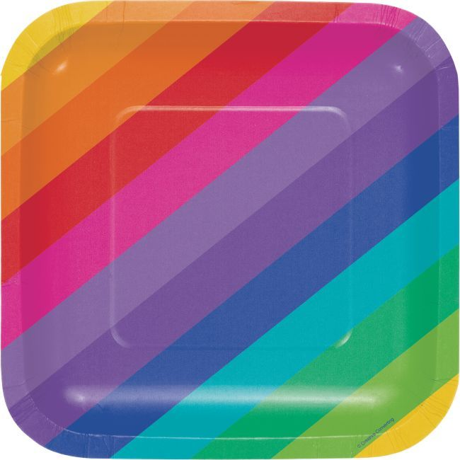 Rainbow Creative Converting 16 Count 3 Ply Pride Lunch Napkins