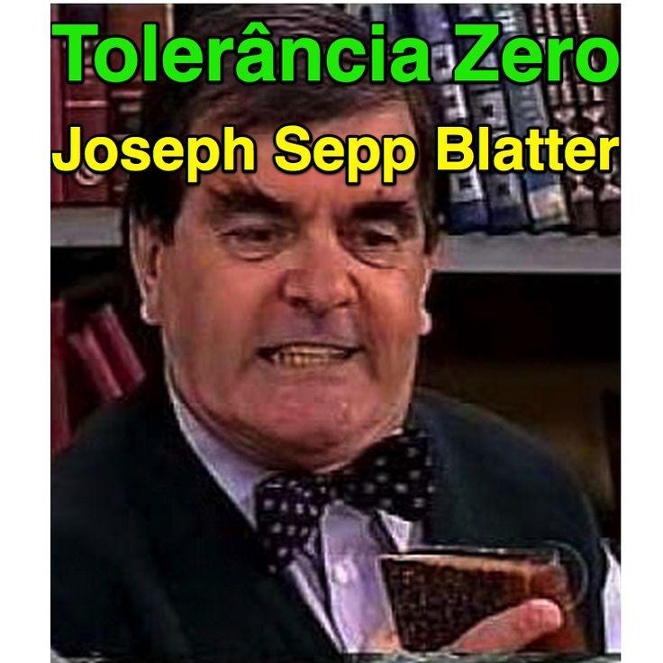 Tolerância Zero para Joseph Sepp Blatter ➤ http://esportes.terra.com.br/futebol/parlamento-europeu-adota-tolerancia-zero-e-cobra-saida-efetiva-de-blatter,63cc7cd99a79b812894f41cfa1098b37jt08RCRD.html ②⓪①⑤ ⓪⑥ ①②
