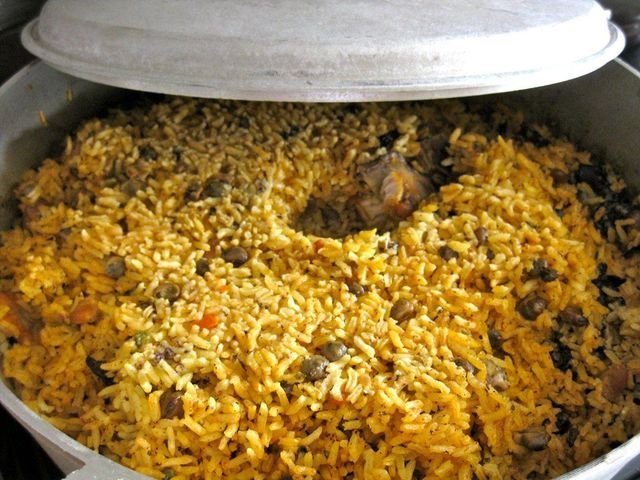 5 Dishes You Must Try in Puerto Rico: Arroz con Gandules