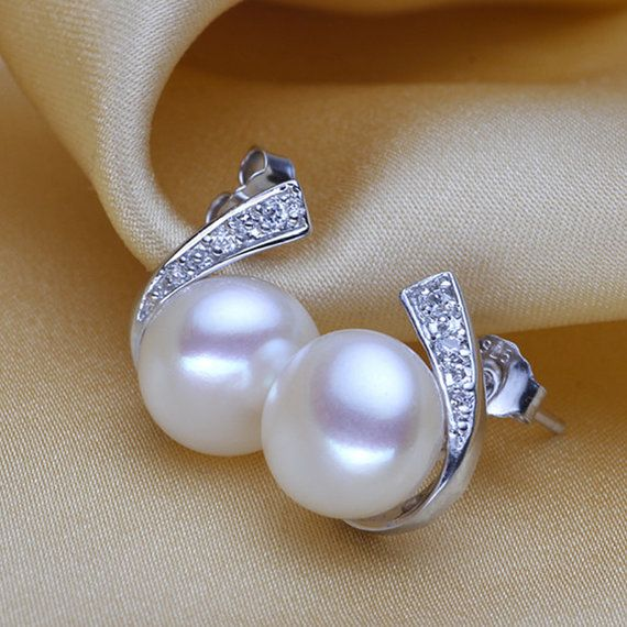 Best 25+ Real pearl earrings ideas on Pinterest