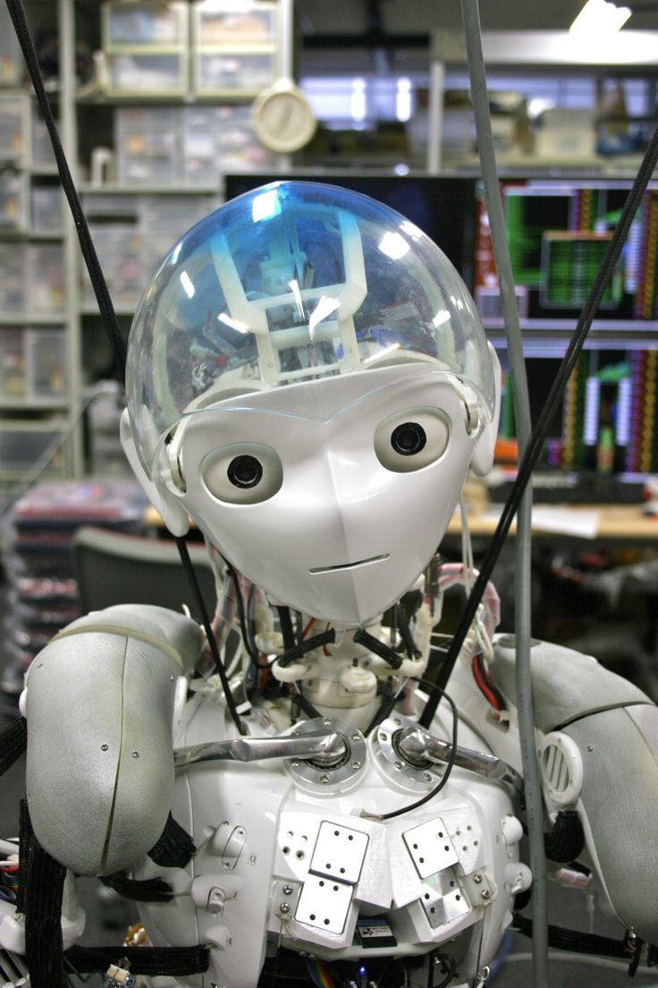 Kojiro is an advanced musculoskeletal humanoid robot under development  at the University of Tokyo's JSK  Robotics Laboratory . Kojiro's cre...