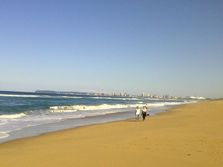 Beautiful beaches in Durbs - winter or summer
