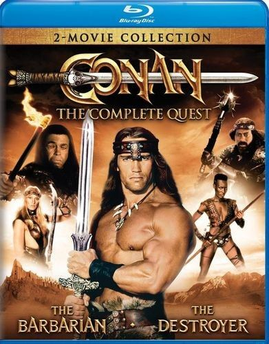 Conan: The Complete Quest [Blu-ray] [2 Discs] - Front_Standard