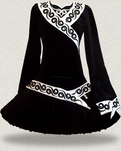 Irish Dance Erwachsenes Solo Kleid