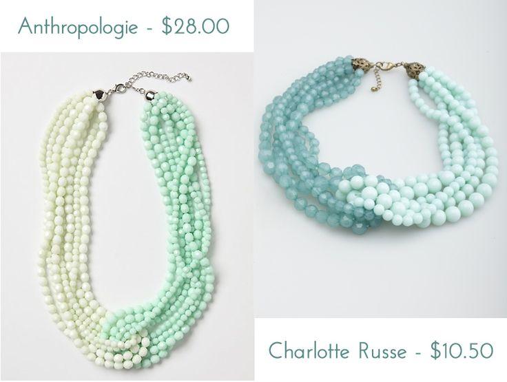 Anthropologie Double Torsade Necklace - DIY idea