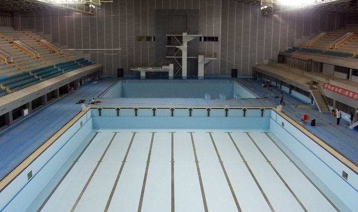 Beijing 2008, Olympic Games - Myrtha Pools