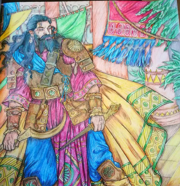 Daario Game Of Thronescoloring Book