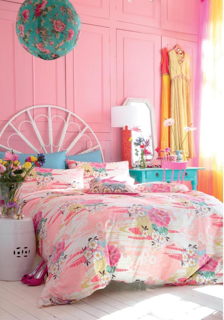 Accessorize Home Oriental Flower Double Duvet Set | McElhinneys Online Department Store