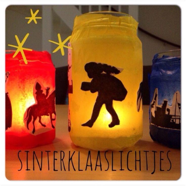 Sint Nicolaas en zijn Maatjes Piet: DIY Samen sfeervolle Sinterklaaslichtjes knutselen!