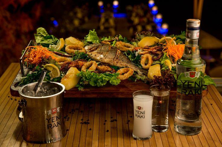 Deniz'den gelen bütün lezzetler bu tabakta ''Kaptan Tabağı''