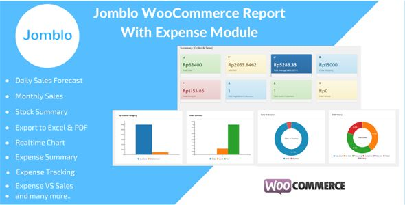 Jomblo WooCommerce Reporting with Expenses Module Code-Scripts - sales forecast