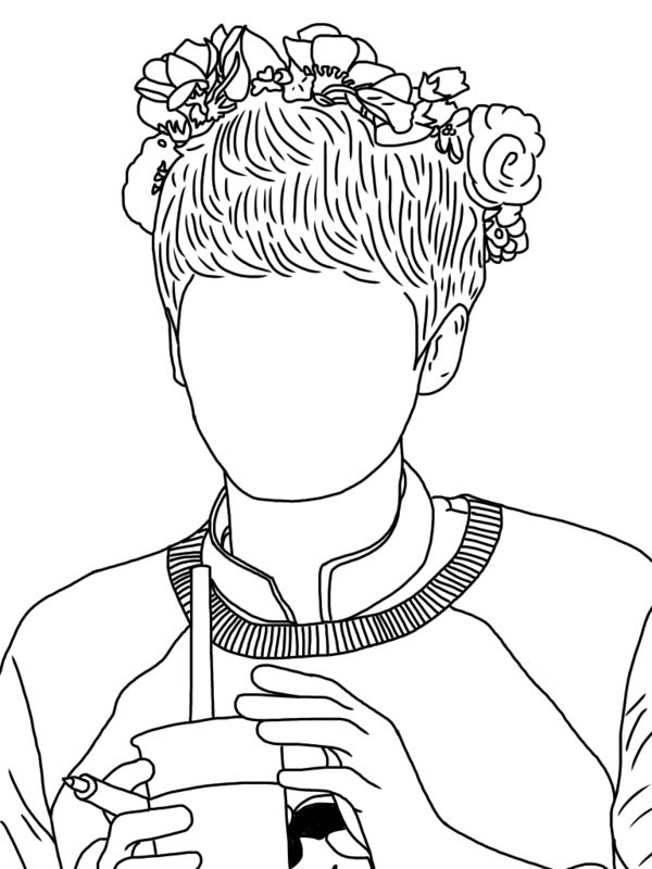 Line Art Kpop : Best bts chibi images on pinterest